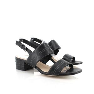 Via Spiga Gem2 Leather Slingback Sandals 5.5